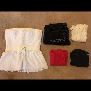 Abercrombie and Fitch Women's large bundle